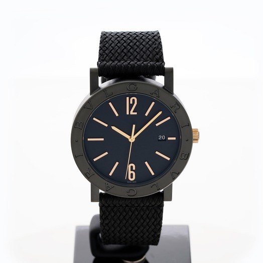 Bvlgari Bvlgari Solotempo Automatic Black Dial Men's Watch 102929