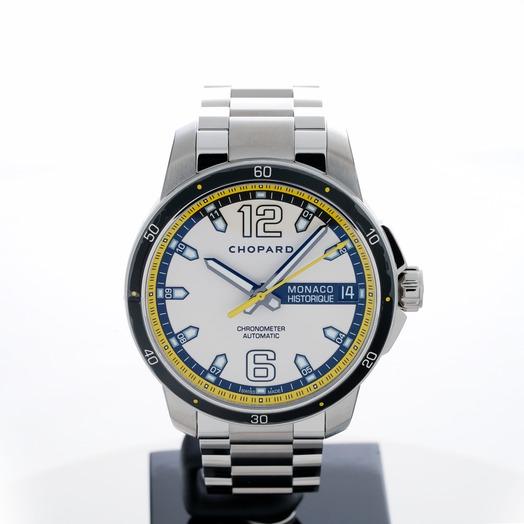 Chopard Grand Prix de Monaco Historique Automatic Silver Dial Men's Watch 158568-3001
