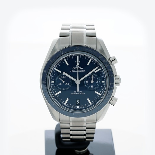 Omega Speedmaster Moonwatch Co-Axial Chronograph 44.25mm Automatic Blue Dial Titanium Men's Watch 311.90.44.51.03.001