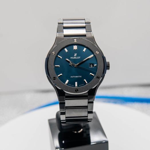 Hublot Classic Fusion Automatic Blue Dial Men's Watch