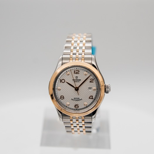 Tudor New Tudor 1926 Baselworld 2018 Rose Gold Automatic Silver Dial Ladies Watch 91351-0002
