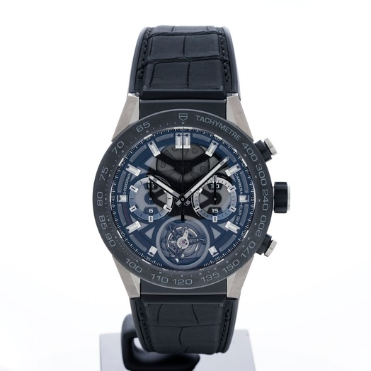 TAG Heuer Carrera Automatic Chronograph Skeleton Dial Men's Watch CAR5A8Y.FC6377