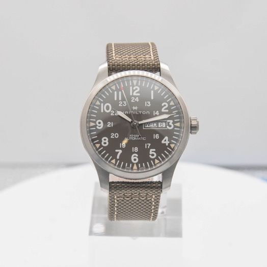 Hamilton Khaki Field Automatic Grey Dial Stainless steel Men's Watch H70535081