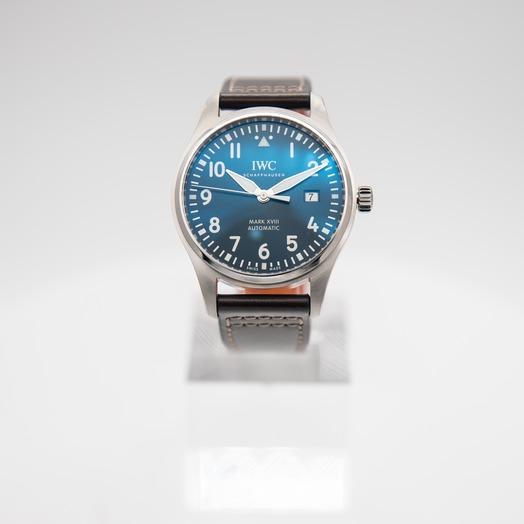 "IWC Pilot's Watch Mark XVIII Edition ""Le Petit Prince"" Automatic Blue Dial Men's Watch IW327010"