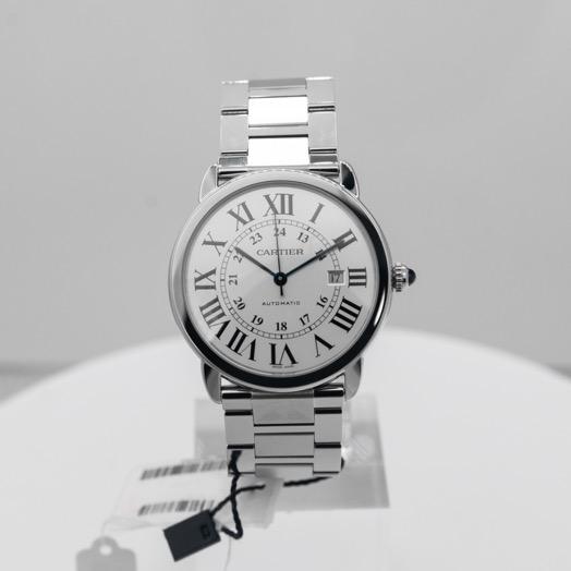 Cartier Ronde Solo de Cartier 42 mm Automatic Silver Dial Stainless Steel Men's Watch W6701011