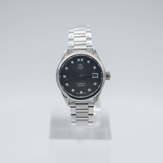 TAG Heuer Carrera Automatic Black Dial Ladies Watch WAR2413.BA0776
