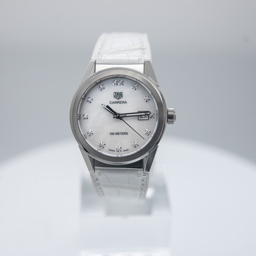 TAG Heuer Carrera Quartz Mother of pearl Dial Women's Watch